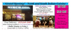 Deals  Discounts  MIRCH INDIAN REST. 11 10 300x131 21 FREE GIFTS !