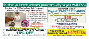 Deals  Discounts  YOUR CHOICE CLEANING 12 10 300x131 21 FREE GIFTS !