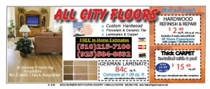 Deals  Discounts  ALL CITY FLOORS 3 111 300x127 OVERSTOCK up to 60% OFF  FREE COUPONS   FREE BAY AREA COUPONS, FREE TEXT COUPONS for Oakland,  East Bay