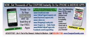 Coupon Codes Deals Coupons  Discounts APPS PROMO2 300x131 NEW COUPON APPS   FREE COUPONS, NEW SHOPPING APPS, NEW APP