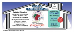 Coupon Codes Deals Coupons  Discounts rosas housecleaning 9 11 3 10 300x131 Grocery Shopping Deals, Restaurant Deals, Car Bargains, Diet Deals