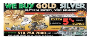 Deals  Discounts  el sobrante gold 10 112 300x131 Latest Bay Area  Coupons   Sell Your Silver,COMEDY,AIRPORT SHUTTLE, VACUUM,TREE,LANDSCAPE,  WINDOW CLEANING, CARPET CLEANING, FLOORING, PRINTER INK CARTRIDGES,   ROOFING,   WINDOWS