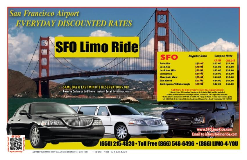 SFO Airport Limo,  LAX shuttle, San Francisco Airport Service