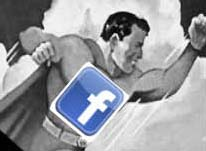 facebook man logo