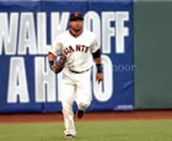 SF Giants GREGOR BLANCO  Credits   MELKY  CABRERA  for his MVP-type  2012 WORLD SERIES