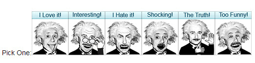 albert emoticons