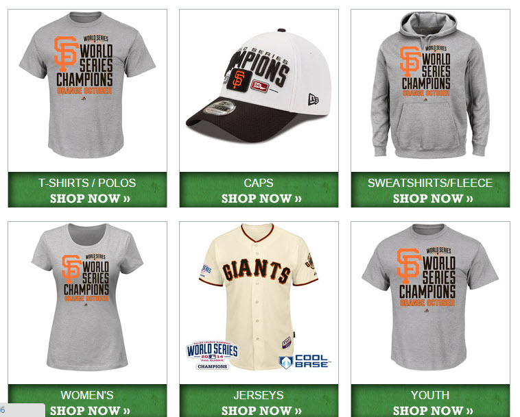 giants officia gear