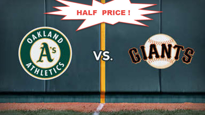 oakland As - SF Giants  meet for April 700