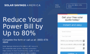 Save 80% on your electric bill - FREE Consultation